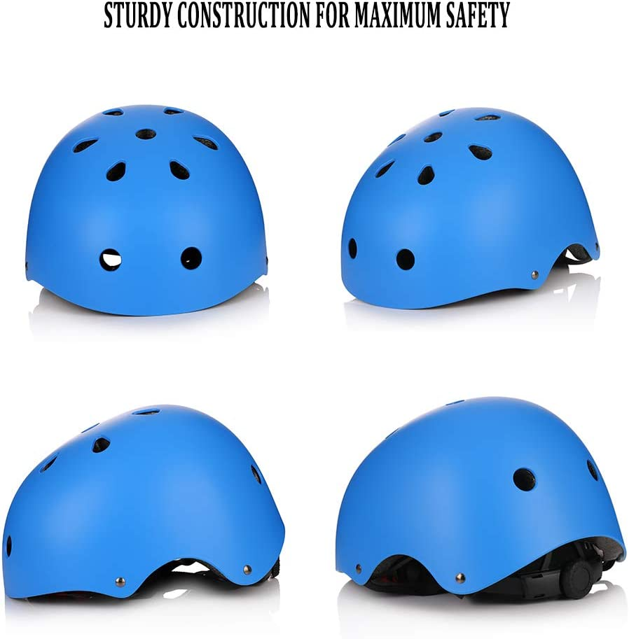 Kids Bike Helmet Toddler Helmet Skateboard Helmet for Kids Adjustable Multi-Sports Kids Youth Helmet Impact Resistance Ventilation Helmet for Scooter Rollerblading