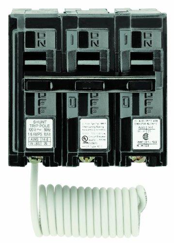 Siemens q29000s01120/240-volt tipo mp-t 90-amp viaje de derivación de interruptor de circuito con 120-volt doble pole