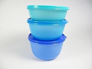 Tupperwares Clarissa para frigorífico de Tupperware, 2litros azul oscuro + 1,5litros..