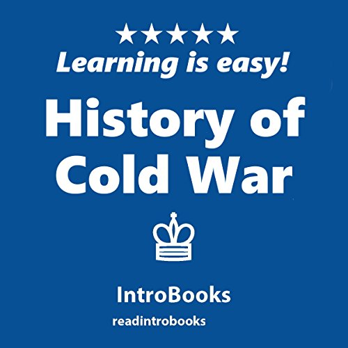 History of Cold War audiobook cover art
