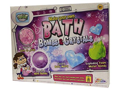 Groovy Labz – Make Your Own Bath Stuff and Bombs – Kit de Création pour le Bain Version Anglaise