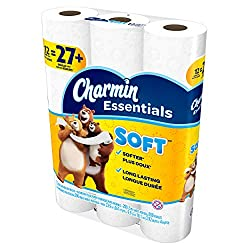 Charmin Soft Giant Roll, 12 Count of 200 2-Ply Sheets Per Roll, Pack of 4
