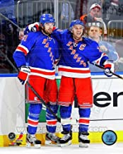 Rick Nash & Ryan Callahan New York Rangers 2013 NHL Action Photo 8x10
