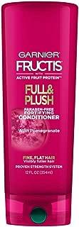 Garnier Hair Care Fructis Full and Plush Conditioner, 12 Fluid Ounce