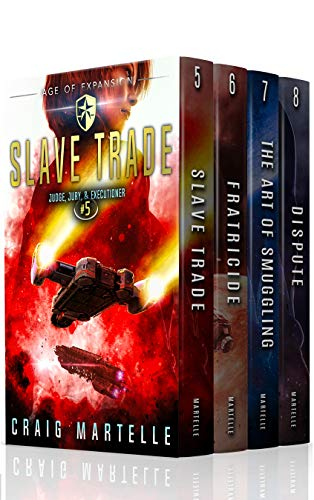 Judge, Jury, & Executioner Boxed Set (Books 5-8): Slave Trade, Fratricide, The Art of Smuggling, Dispute (English Edition)