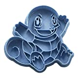 Cuticuter Squirtle 2 Pokémon Cortador de Galletas, Azul, 8x7x1.5 cm