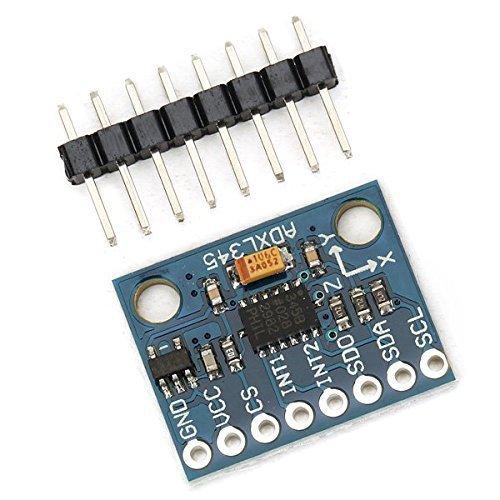 ARCELI ADXL345 Módulo de inclinación de Gravedad Digital de 3 Ejes para Arduino GY-291