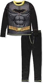 Cuddl Duds Batman Costume Big Boys 2-Piece Pajama Set