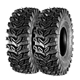 MaxAuto ATV Tires 15x5.00-6 15x5x6 Snow Hog Lawn and Garden Tires Snow Blower Thrower Tire 2PR, Set of 2