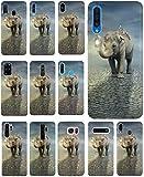 KX-Mobile Hülle für LG G5 Handyhülle Design 1119 Elefant