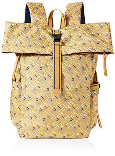 Esprit Accessoires Damen Izumibackpaop Rucksackhandtasche, Gelb (Yellow), 13x36x25 cm