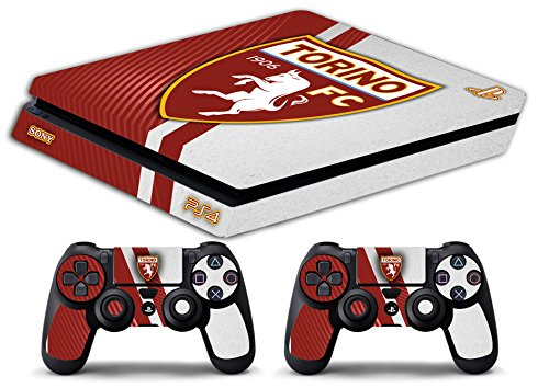 Skin Ps4 SLIM - TORINO ULTRAS CALCIO - limited edition DECAL COVER ADESIVA Playstation 4 Slim SONY BUNDLE