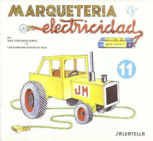 Marqueteria y electricidad 11: Tractor (Marquetería y electricidad)