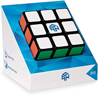 GAN Speed Cubing, GAN Speed Cube, 3x3, Tiled Scratch Proof Gans Magic Cube 3x3x3 Puzzle Toy Black (2020 GSC)