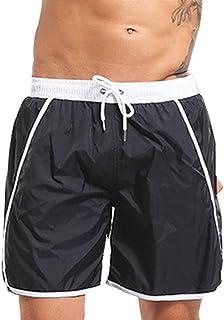 6ae5274a1a Maillot de Bain Homme Shorts de Sport,SANFASHION Boxer Trunks Loose,Short  de Surf