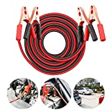 REHTRAD About 6.5 feet of Jumper Cable, Car Battery Jumper Cable, Heavy-Duty Battery Jumper Cable, Car Jumper Cable (red Positive, Black Negative)
