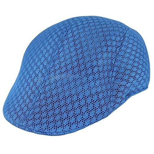 JK Gorra de Boina de Verano para Hombre Fashon para Rejilla de ventilación Unisex Gorras Masculinas Casual Cómodo Belleza Sombrero de Adulto sólido Cap-6, China, Talla única