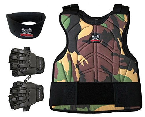 Maddog Padded Chest Protector Combo Package - Camo - Large/X-Large
