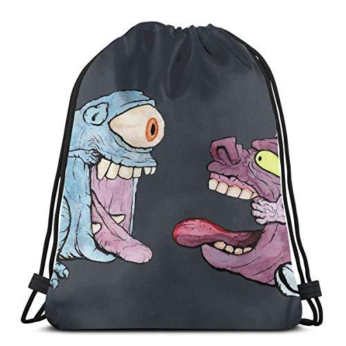 N / A H2O Gho-St Vs Zuggeschwindigkeit Voraus Gho-St Jugendliche Drawstring Backpack Verstellbar Gym Bag Tasche Gymsack Sporttasche Kordelzug Rucksack Tasche Für Damen Herren