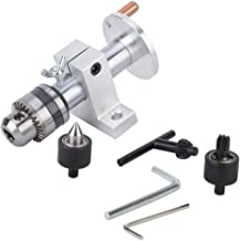 𝐁𝐥𝐚𝐜𝐤 𝐅𝐫𝐢𝐝𝐚𝒚 Lathe Revolving Center, DIY Woodworking Precise Live Revolving Center with Wrench for Mini Lathe M...