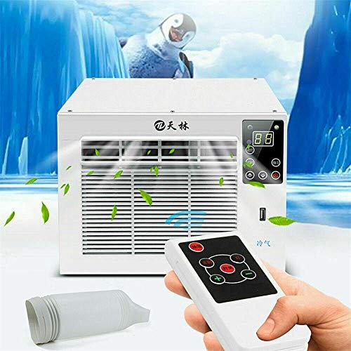 Mobile Klimaanlage, Mini Luftkühler, Klein Persönliche Klimaanlage, 1100w Fensterklimagerät Einbau Kompakt-Klimagerät Klimaanlage Klima Kühler 220V für Schlafzimmer Wohnzimmer Büro