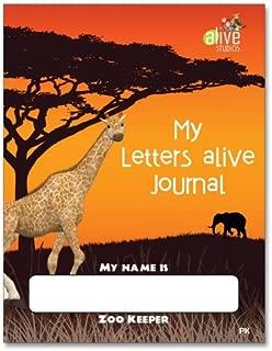 My Letters alive Journal - PreK (Single)