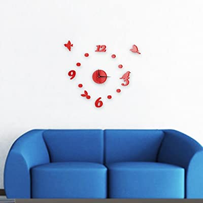 kaige Wall Clocks Mute living room bedroom decoration wall Clock size: 6060cm