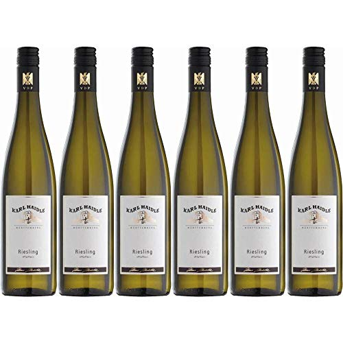 Riesling halbtrocken Stettener Pfeffer Weingut Karl Haidle VDP 12% 0,75l (Paket 6x0,75l)