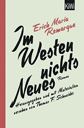 Im Westen nichts Neues: Roman. Mit Materialien