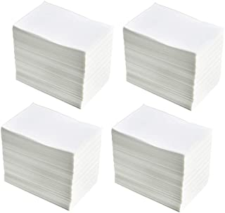 """4 Stacks Fanfold 4"""" x 6"""" Direct Thermal Labels, 1000 Labels Per Stack, White Perforated, Permanent-Adhesive, Compatible Zebra, Elton"""