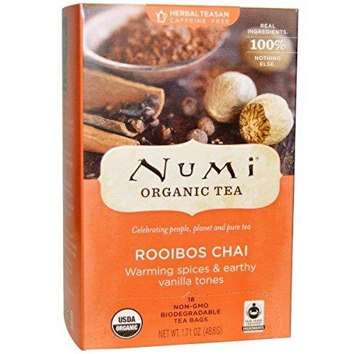 Numi Teas Tea Herb Ruby Chai Spcd R