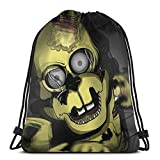 Drawstring Bags Springtrap I Always Come Unisex Drawstring Backpack Sports Bag Rope Bag Big Bag Drawstring Tote Bag Gym Backpack In Bulk