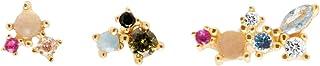 PDPAOLA - Set di Orecchini La Palette - Argento Sterling 925 Placcato in Oro 18 carati - Gioielli per Donna
