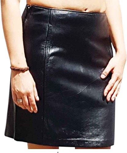 Fuente Leather Wears - Falda - rock - para mujer negro XS (Ropa)