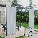 Morbidissimi Tenda Gazebo Idrorepellente 140x270 cm - Bianco Ottico V900