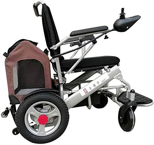 Y DWAYNE Sedia A Rotelle Elettrica Sedia A Rotelle per Disabili Auto Sedia A Rotelle Elettrica per Anziani Ruota Grande Sedia A Rotelle Pieghevole Leggera C