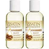 Satin Smooth Satin Release Wax Residue Remover Oil 4 oz x 2 packs