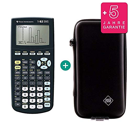 TI-82 STATS + Extension de garantie + Housse de protection SafeCase