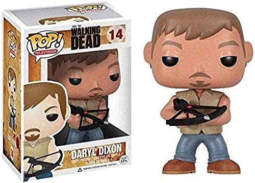 A-Generic Pop Vinyl The Walking Dead figur - Daryl Dixon popfigur amerikansk form TV-serie samling armborst bror 10 cm