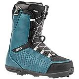 Nitro Snowboards - Scarponi da snowboard da uomo Thunder TLS '20 All Mountain Freeride Freestyle, con allacciatura rapida, 27,5, colore: blu navy/nero