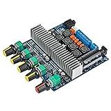 Digitalkey - Tarjeta Amplificador subwoofer 2.1 Canales de Alta Potencia (CC 12 V-24 V, 2 * 50 W + 100 W) + Bluetooth 4.2