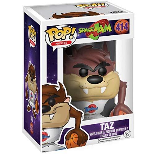 Funko Pop Movie : Space Jam - Shut Up Taz 3.75inch Vinyl Gift for Basketball Fans for Boy