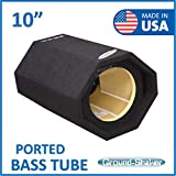 10' Bass Tube / 10' Single ported sub woofer Enclosure