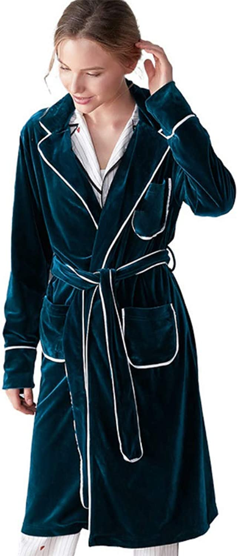 Deluxe Women Robe Luxurious Plush Spa Bathrobe