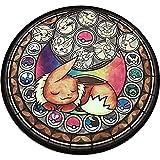 TOSSPER Tapis Animaux Pokemon Étage Mignon Tapis Ronde Souple pour Enfants Tapis De Jeu Coussin Anti-dérapant pour Living Room Chambre Home Déco