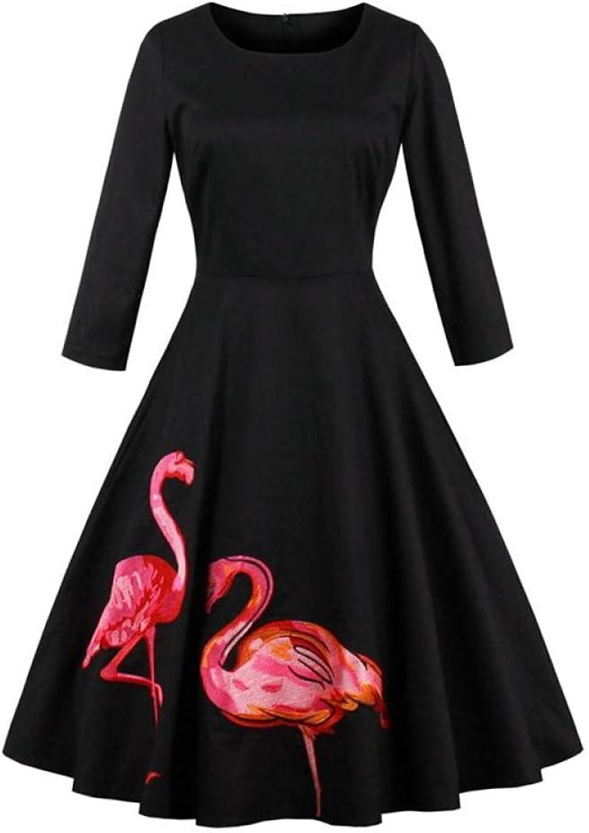 YLDCN Women's Skirts Girls' Black It Max 70% OFF is very popular Women Embroidered Dress