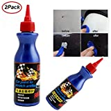 BYMYWAY 2 Pack One Glide Scratch Remover,Car Scratch Repair Fluid Polishing Wax, Universal Auto Car Paint Dent Care Pen Polishing Repair Agents