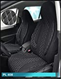 Maß Sitzbezüge kompatibel mit Mercedes C-Klasse W205/S205 Fahrer & Beifahrer ab FB:PL408