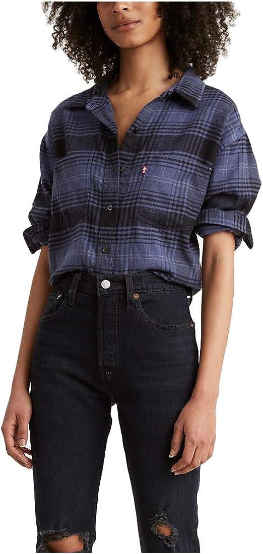 Levi's Women's Max shop 51% OFF Maple Utility Shirt
