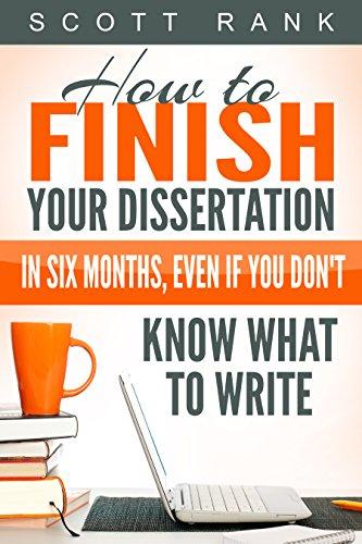 How To Write Your Dissertation Amazon